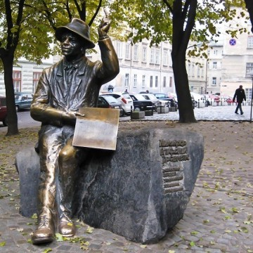Пам'ятник Єпіфану Дровняку у Львові