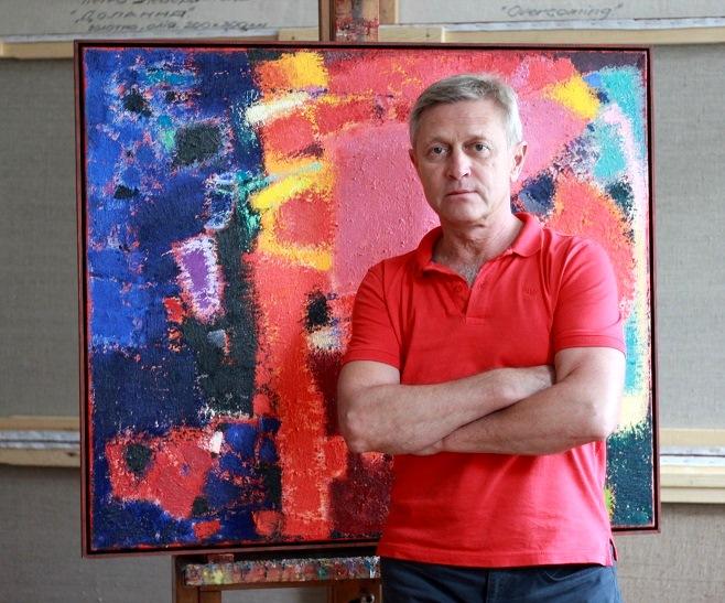 Художник Петро Лебединець / Фото: artslooker.com