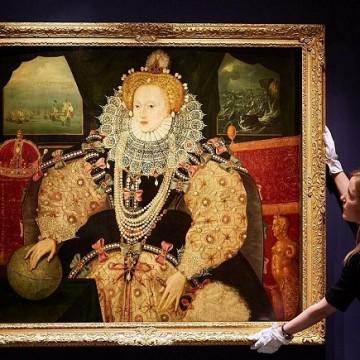 Портрет англійської королеви Єлизавети І. Фото: Michael Bowles/Getty Images