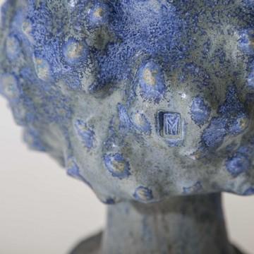"""Фрагмент скульптури учасника фестивалю """"ЦеГлина2016"""", Юрія Мусатова"""