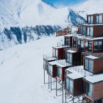 Гірськолижний готель Quadrum Ski and Yoga Resort в Гудаурі / Фото: quadrum-gudauri.com