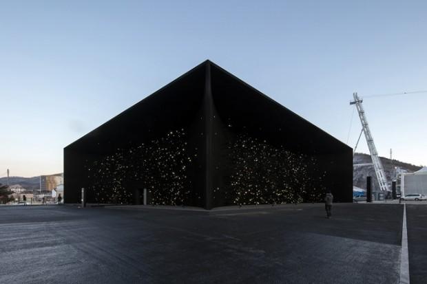 Найчорніша будівля у світі від архітектора Асіна Хана / Фото: asif-khan.com