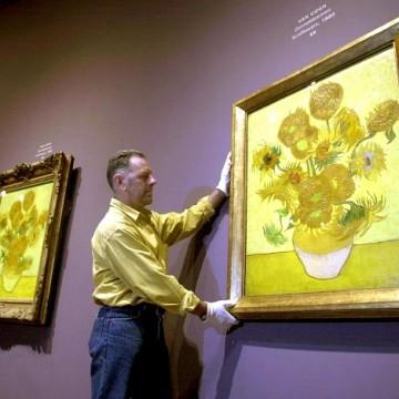 Експозиція соняшників Ван Гога в амстердамському музеї / Фото: Robbert Slagman/EPA