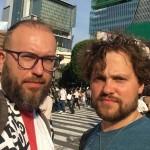 Єгор Зігура та Роман Мінін у Токіо