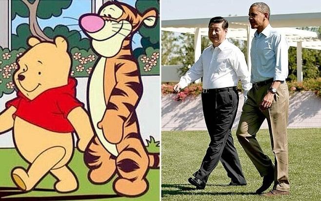 Китайський інтернет-Мем, який спричинив заборону фільма та цензуру в Піднебесній / Фото: telegraph.co.uk