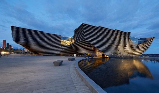 Музей дизайну «V&A Dundee» в Шотландії / Фото: huftonandcrow.com
