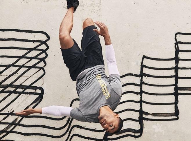Фото з реклами H&M на тлі графіті Revok / Фото: hm.com