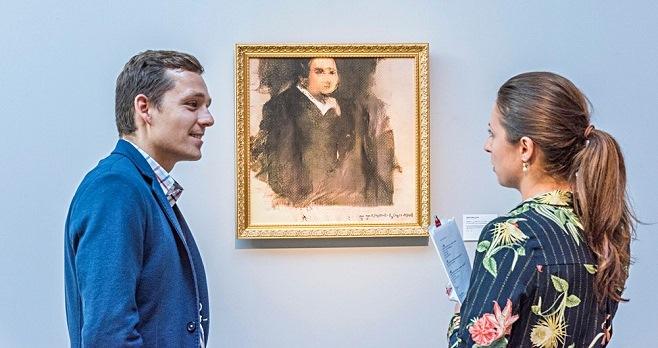 Obvious. «Портрет Едмонда Беламі». На торгах Christie's в категорії «Тиражні роботи» / Фото: Obvious