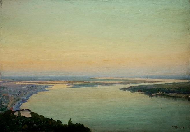 """Іван Труш (1869-1941). """"Дніпро"""", початок 1920-х рр."""