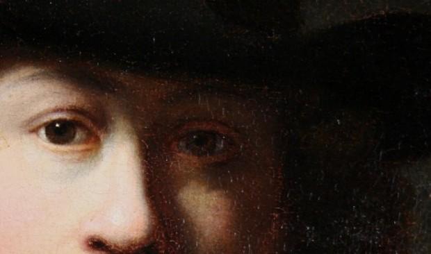 Фрагмент, можливого автопортрету Рембрандта / Фото: svt.se