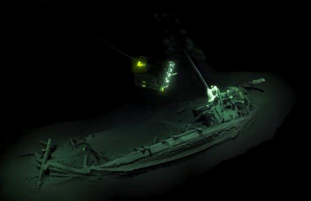 Знайдене судно на дні Чорного моря біля берегів Болгарії / Фото: theguardian.com