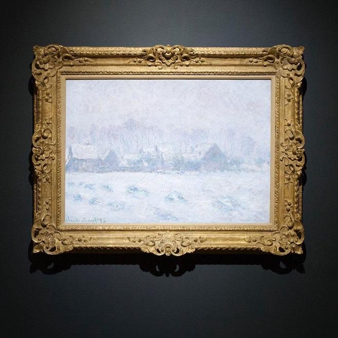 Колод Моне, «Ефект снігу в Живерні» / Фото: Christie's