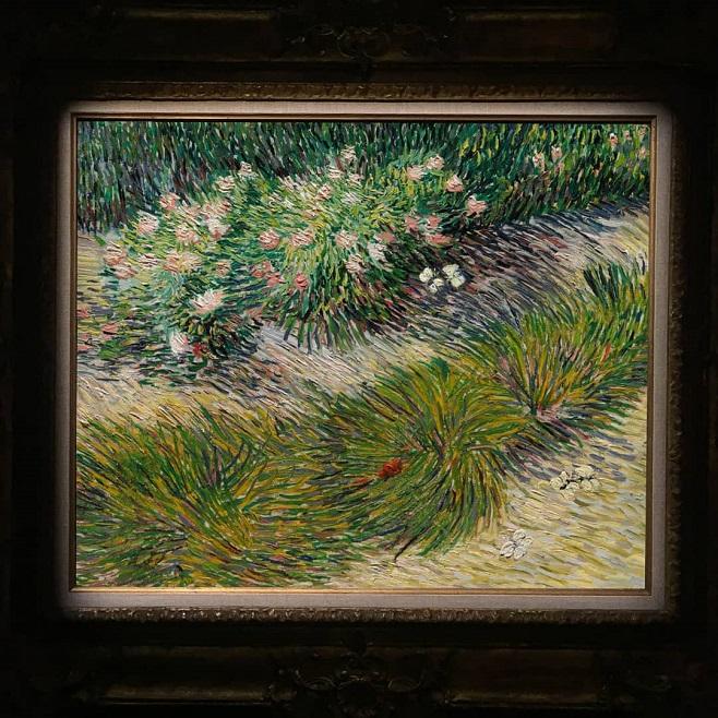 Вінсент ван Гог, «Кут саду і метелики» / Фото: Christie's