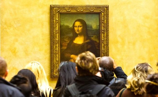 """Картина Леонардо да вінчі, """"Мона Ліза"""" у Луврі / Фото: www.louvre.fr"""