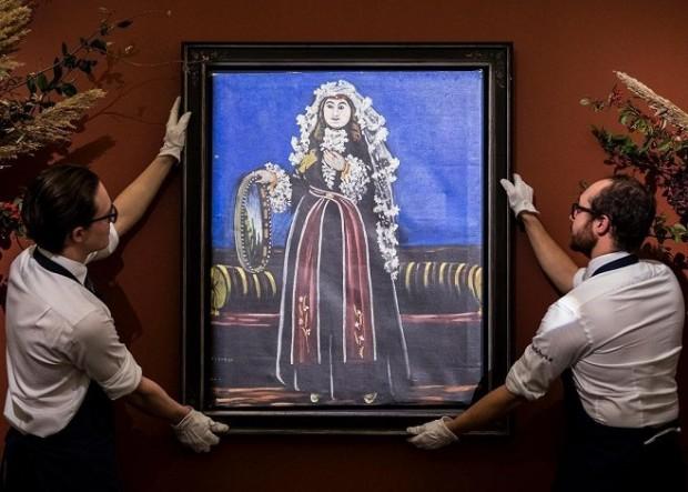 Найдорожча картина Ніко Піросмані / Фото: instagram.com/sothebys