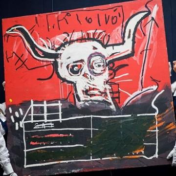 """Жан-Мішель Баскія,  """"Cabra"""" / Фото: sothebys.com"""