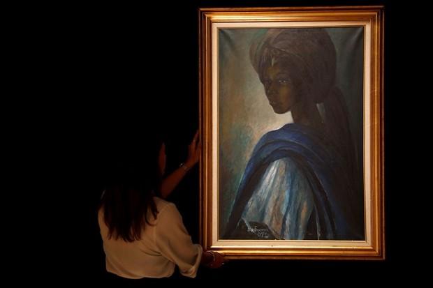 "Африканська ""Моно Ліза"". Бенедикт Енвонгу, «Туту» / Фото: Peter Nicholls, Reuters"