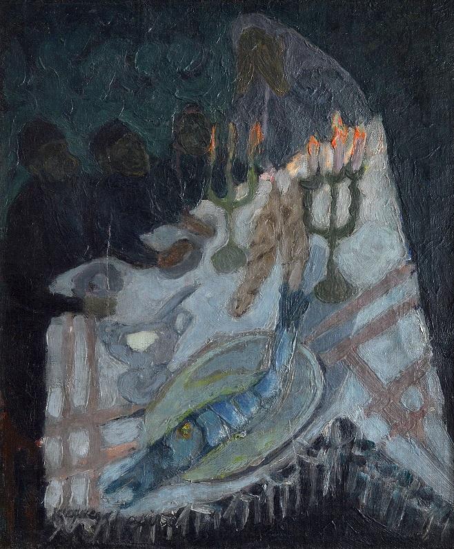 Жак Шапіро «Суботнє благословення», 1940-і