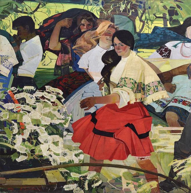 Володимир Сингаївський «Веснянки», 1969