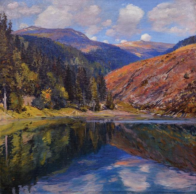 Йосип Бокшай «Озеро Синевир», 1954