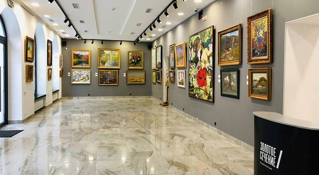 Виставка «Українське класичне мистецтво 20 століття» в аукціонному домі «Золотое Сечение» / Фото: gs-art.com