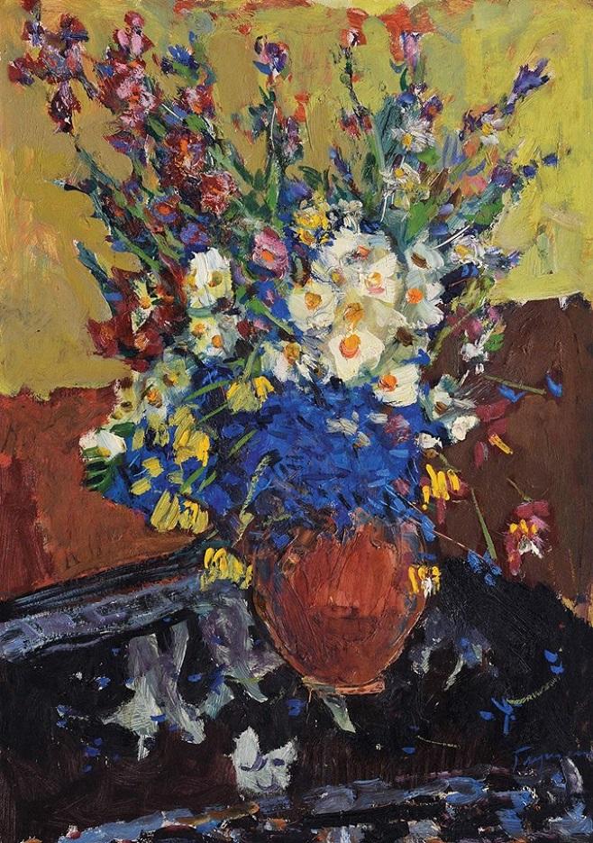 Микола Глущенко «Польові квіти», 1969