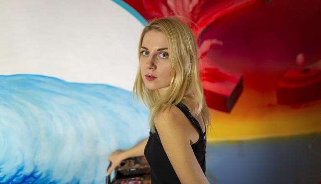Artist Alexandra Stepanenko