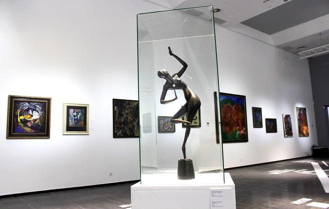 Скульптура Олександра Архипенка, «Блакитна танцівниця», 1914 з колекції Андрія Адамовського / Фото: artslooker.com