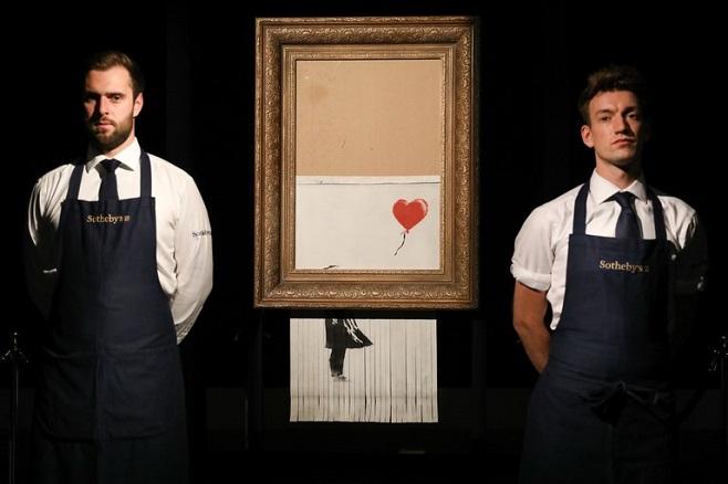 Бенксі, Любов у сміттєвому відрі / Фото: gettyimage.com
