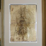 Малюнок Леонардо да Вінчі, на якому знайдено відбиток пальця / Фото: Getty Images/Dan Kitwood