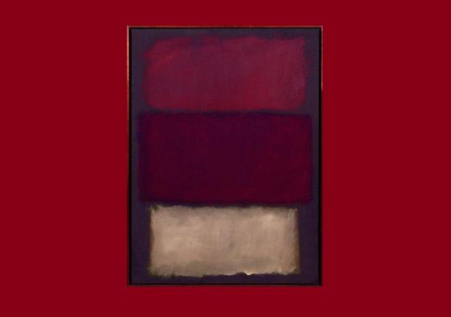 """Картина Марка Ротко """"Без назви"""", 1960"""