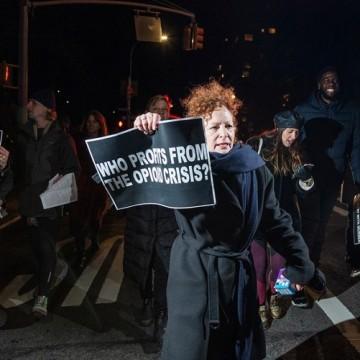 Фотограф-активіст Нан Голдін / Фото: newyorker.com