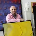 The German artist Sascha Labuda / Photo: artslooker.com
