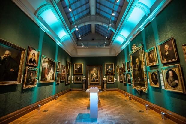 Один із виставкових залів Лондонської Національної портретної галереї /Фото: headbox.com