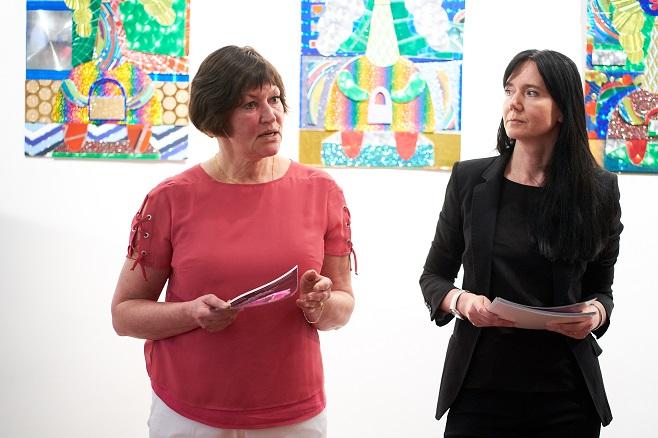 Ірина Акімова та Маріанна Абрамова