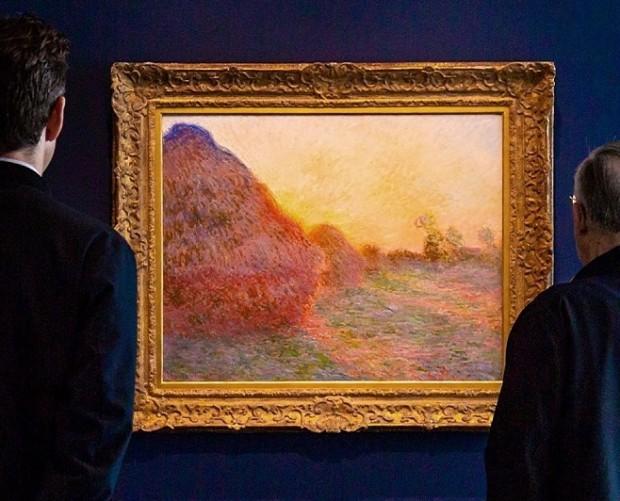 Клод Моне «Копиці сіна» (1890) / Фото: instagram.com/sothebys