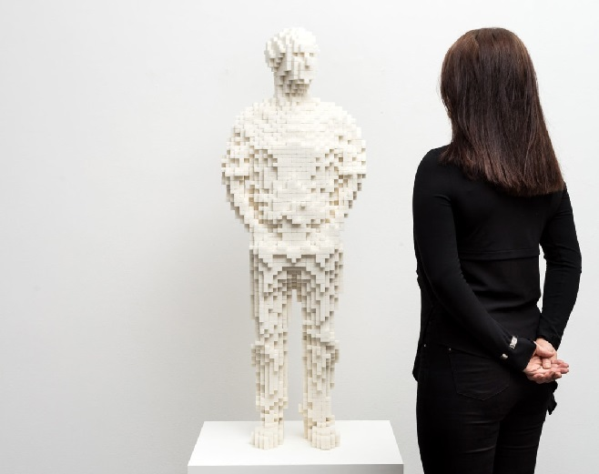 Cкульптура-автопортрет Томаса Фрідмана / Фото: stephenfriedman.com